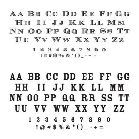 Flourish Frame Address Stamp
