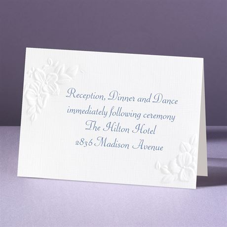 Interlocking Hearts - Reception Card