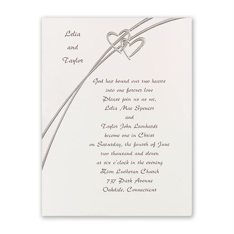 Love Struck Invitation