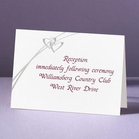 Love Struck Reception Card