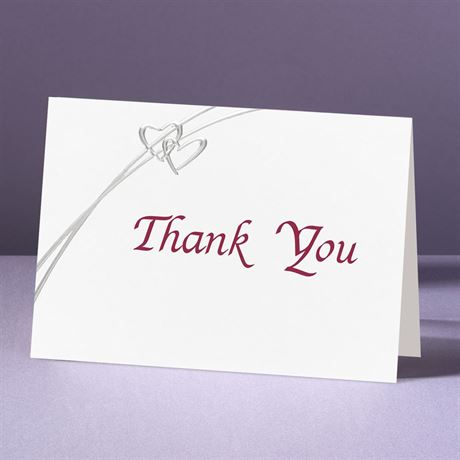 Love Struck - Thank You Card And Envelope