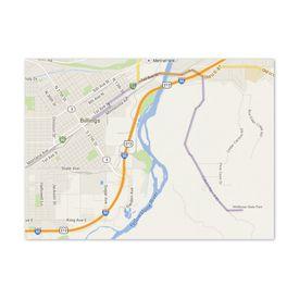 Rustic Love - Map Card