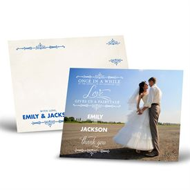 Wedding Thank You Cards: Charmed  Thank You Postcard