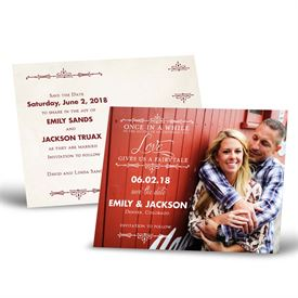 Photo Save the Date Cards: Charmed  Save the Date Postcard