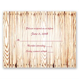 """Wedding Response Cards: Gettin"""" Hitched  Response Card"""