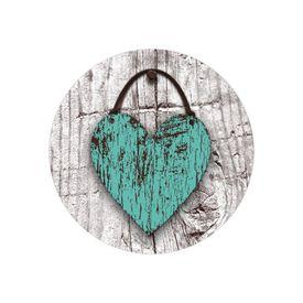 Wood Heart Envelope Seal