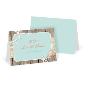 Wedding Thank You Cards: Beach Retreat Thank You Card