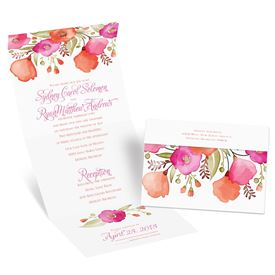Pretty Posies - Seal and Send Invitation