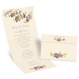 Future Mr. & Mrs. - Ecru - Seal and Send Invitation