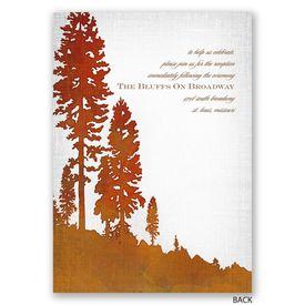 Lakeside - Invitation with Free Respond Postcard