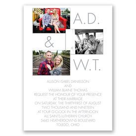 Photo Favorites Invitation with Free Respond Postcard