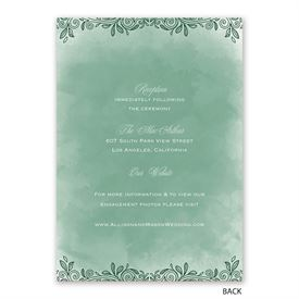 Woodland Wonder - Invitation with Free Response Postcard