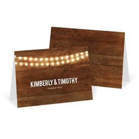 Wedding Thank You Cards: Brilliant Lights Thank You Card