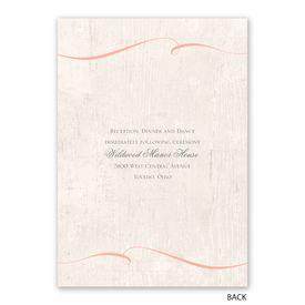 Love Endures - Invitation with Free Response Postcard