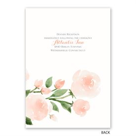Within Reach - Invitation with Free Response Postcard
