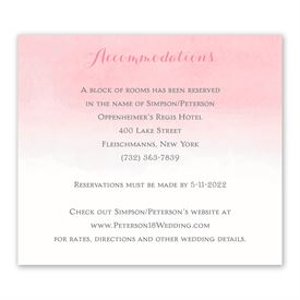 Wedding Reception Cards: Forever And Always Information Card