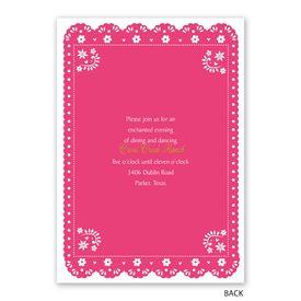 Festive Fiesta - Invitation with Free Response Postcard