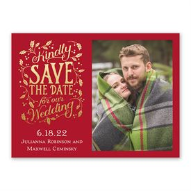 Merry Love Holiday Save the Date