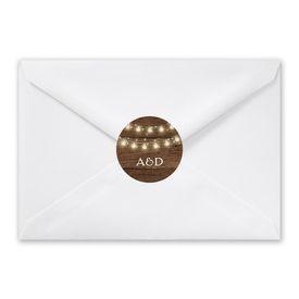 Rustic Glow - Envelope Seal