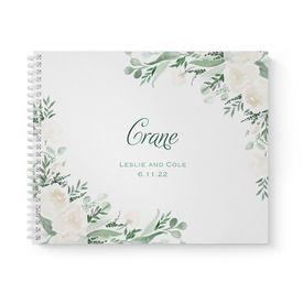 Wedding Guest Books: Painted Garden Guest Book