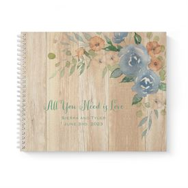 Country Blooms Guest Book