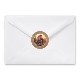 Rustic Photo - Envelope Seal