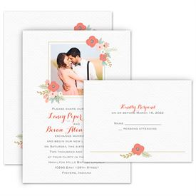 Photo Wedding Invitations: 