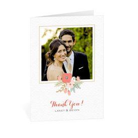 Wedding Thank You Cards: Pretty Posies Thank You Card