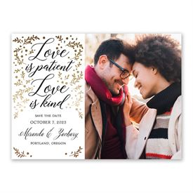 Love is Patient Save the Date