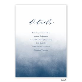 Ombre - Invitation with Free Response Postcard