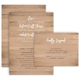 Wedding Invites Free Respond Cards: All Things Invitation with Free Response Postcard
