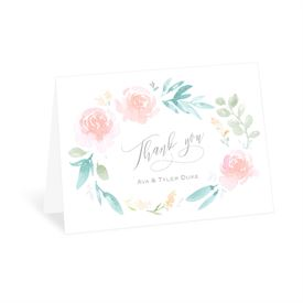 Wedding Thank You Cards: Love Believes Thank You Card