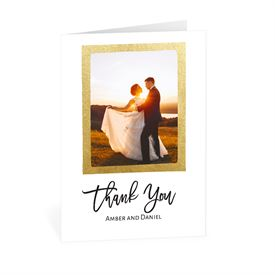 Wedding Thank You Cards: Love Framed Thank You Card