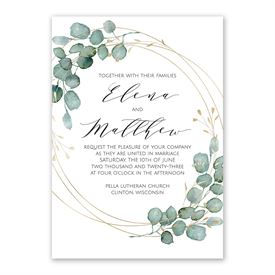 Eternity Invitation with Free Response Postcard
