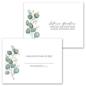 Eternity - Invitation with Free Response Postcard