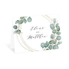 Wedding Thank You Cards: Eternity Thank You Card