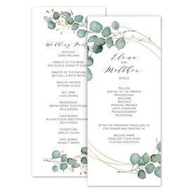 Wedding Programs: Eternity Wedding Program