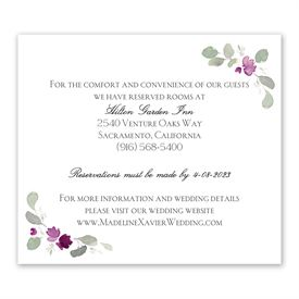 Petite Blooms - Grapevine - Information Card