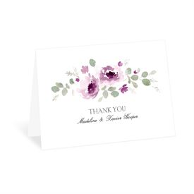 Petite Blooms - Grapevine - Thank You Card