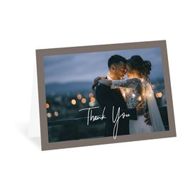 Wedding Thank You Cards: Basically Perfect Thank You Card