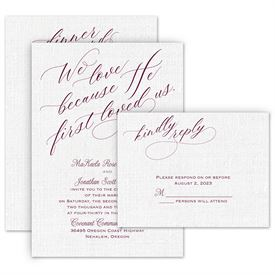 Christian Wedding Invitations: 
