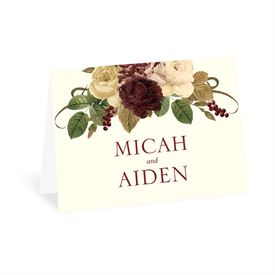 Budding Floral - Spirited - Thank You Card
