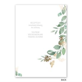 Forever Love - Invitation with Free Response Postcard