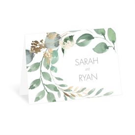 Wedding Thank You Cards: Forever Love Thank You Card