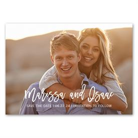 Bold Love - Save the Date Magnet