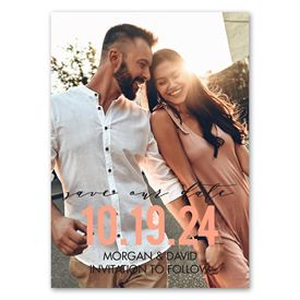 Set the Date - Save the Date Magnet