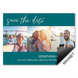 Love Story Save the Date Magnet