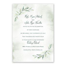 Breathtaking Invitation with Free Response Postcard