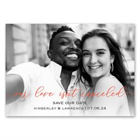 Not Canceled - Save the Date Magnet