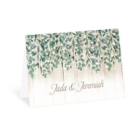 Wedding Thank You Cards: Glowing Canopy Thank You Card